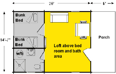 Deluxe Cabin Layout