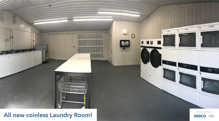 New coinless laundry